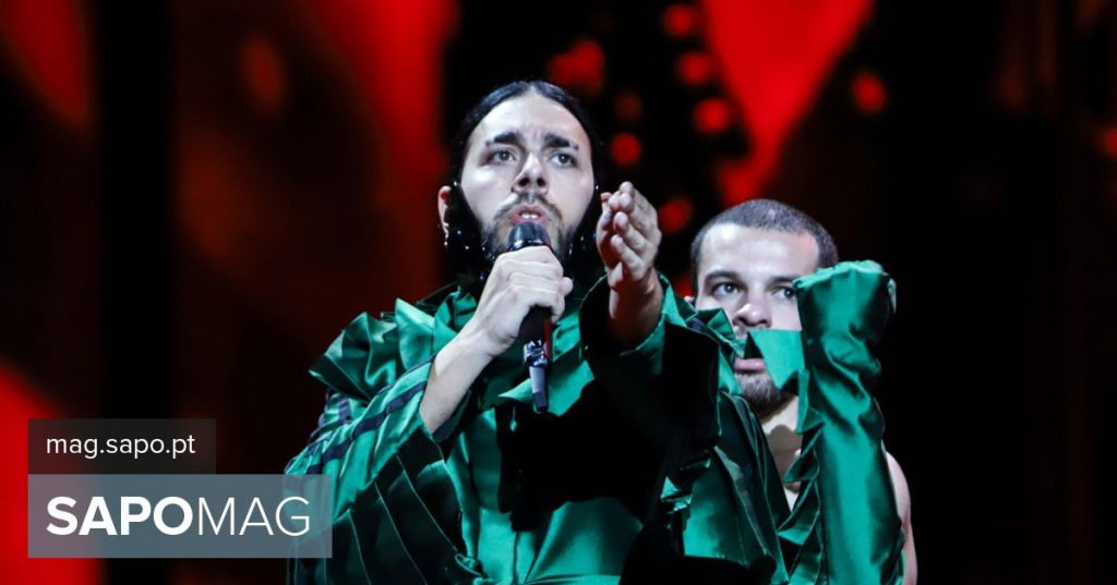 Eurovision Song Contest: the first essay by Conan Osiris in photos