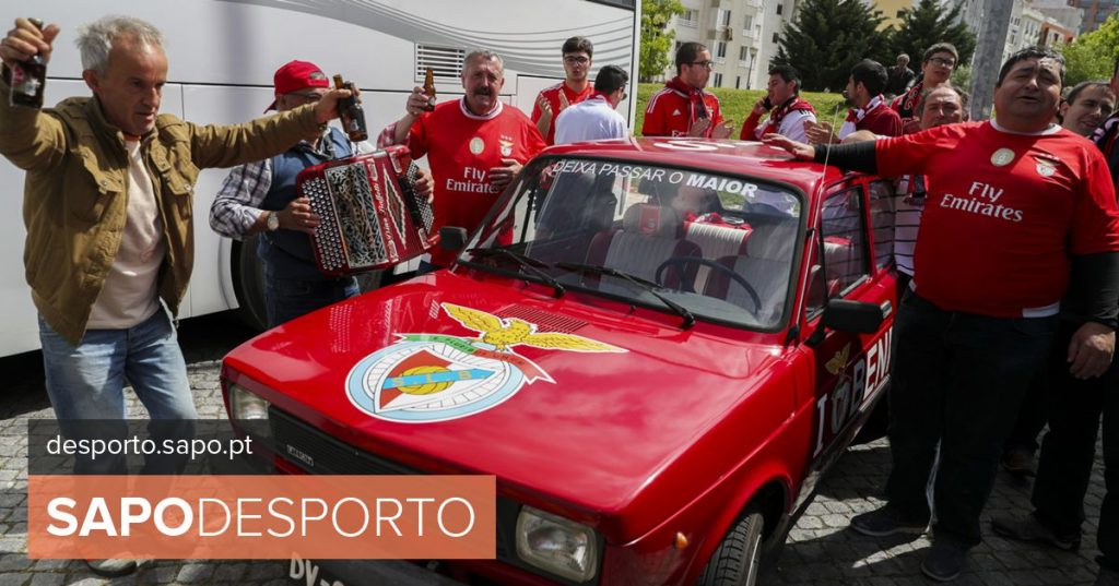 """Fans anticipate Benfica feast with """"piglet to champion"""" around Luz - Football"""