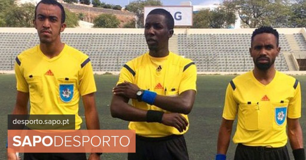 Football / Cape Verde: Ivaldir Silva, from Santiago Sul, final whistle of the national championship