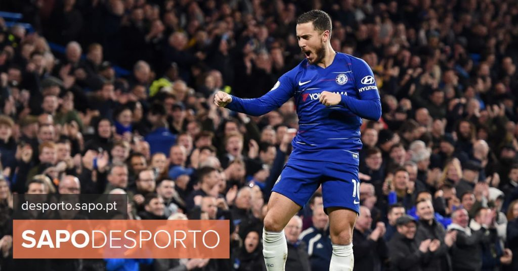 """Hazard and the renewal with Chelsea: """"Where's the pen?"""""""