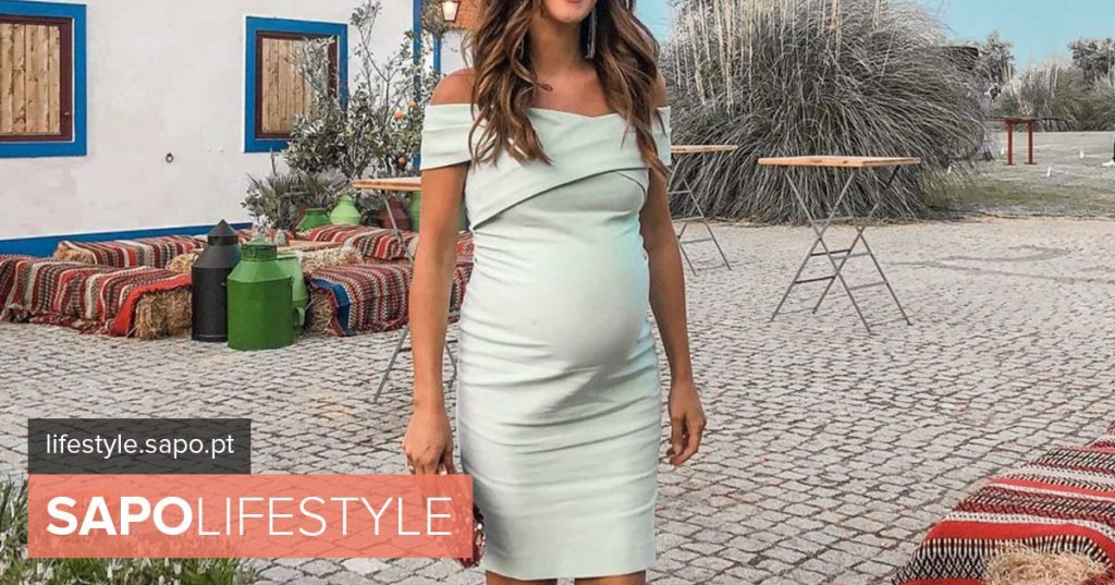 In the final stretch of pregnancy, Helena Costa spreads elegance in marriage - News