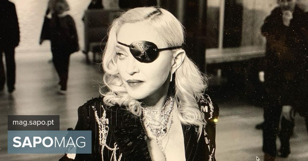Madonna performs at the Coliseum in Lisbon in 2020 - Showbiz