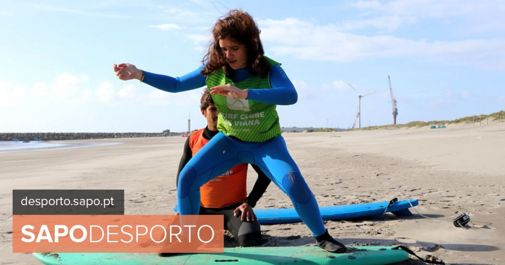 Marta Paço wins gold medal in the first European adapted surf