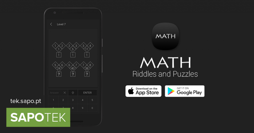 Math Riddles challenges you to solve math puzzles and puzzles - Android