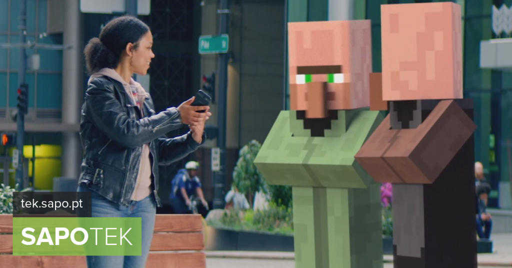 Microsoft may be preparing Minecraft in augmented reality - Multimedia