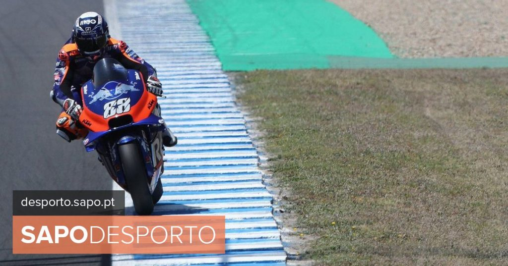 Miguel Oliveira leaves the last line of the grid of the GP of Spain