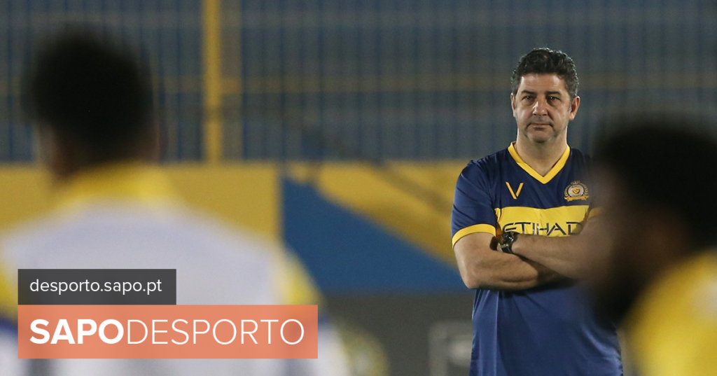"""Rui Vitória: """"I also participated in the title, but what gave me pleasure was to be champion in Saudi Arabia"""""""