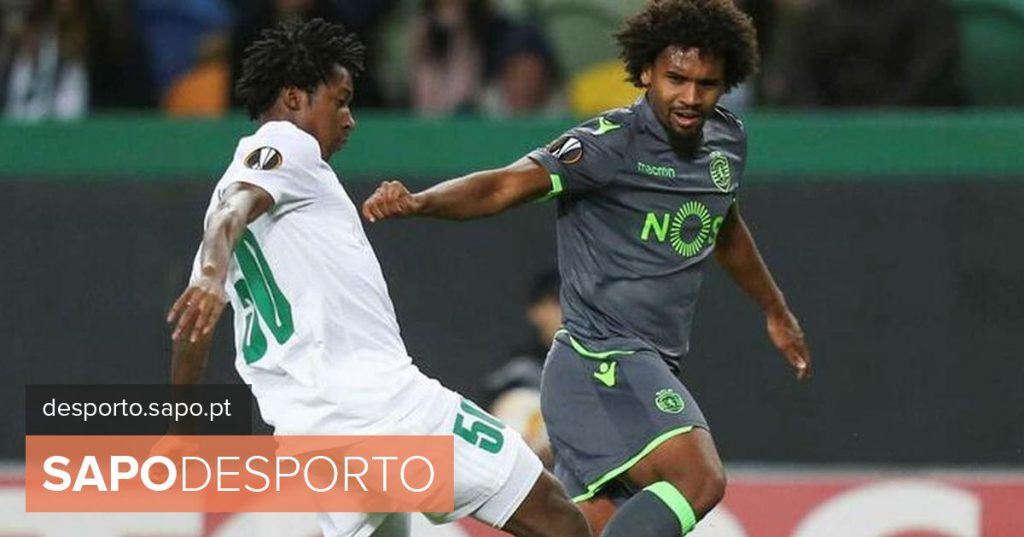 Sporting: Bruno Paz successfully operated on right knee cruciate ligament