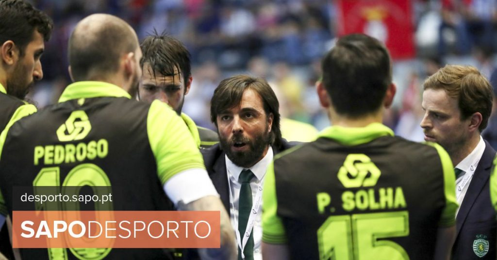 """Sporting handball coach: """"In sport, anything can happen, but FC Porto has been very regular"""" - Modalities"""
