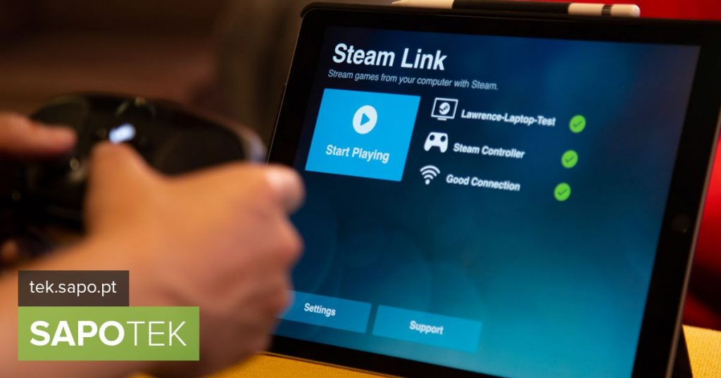 Steam Link is the app that makes streaming games to your smartphone, tablet or TV - iOS