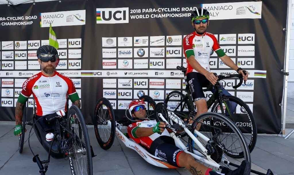 Two paratroxers from Sporting / Tavira Paracycling go to the World Cup races - Jornal diariOnline Região Sul