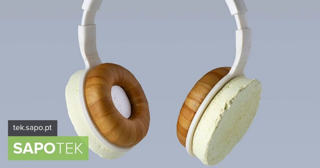 What if we replace the plastic of headphones with ... mushrooms? - Multimedia