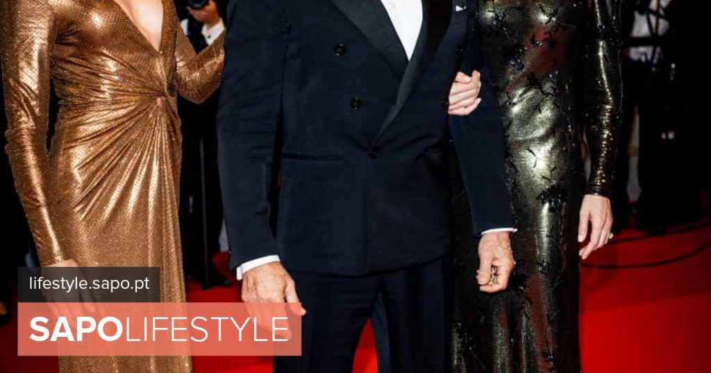 Wow!! Woman and daughter of Sylvester Stallone shine in Cannes with the actor