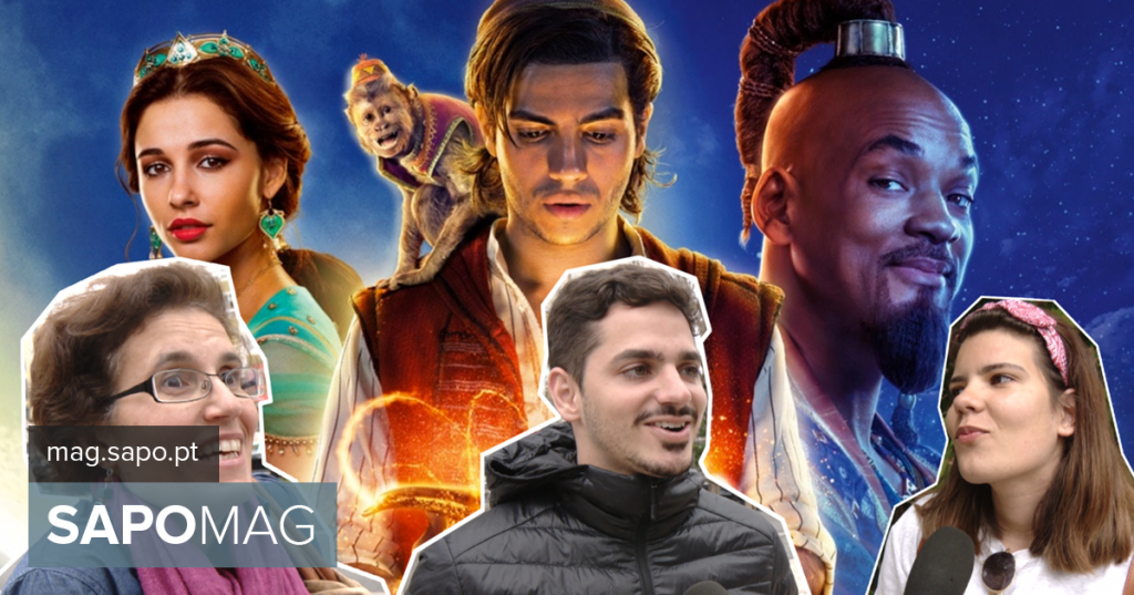 """""""Aladdin"""": what if he could ask for three wishes? We went to the street to know what would be the Portuguese - Current"""