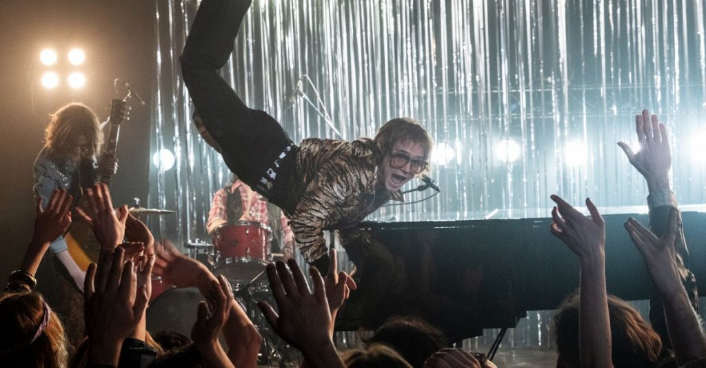 """""""Rocketman"""": glitter, melodies and lots of love from Elton John"""