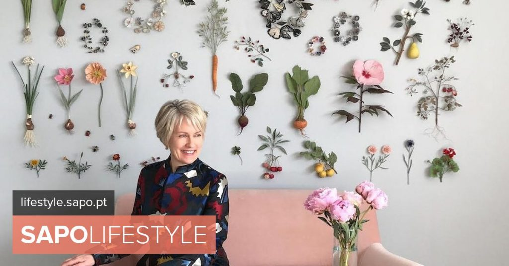 Ann Wood the North American who for decades represents the vegetable world in paper - Current