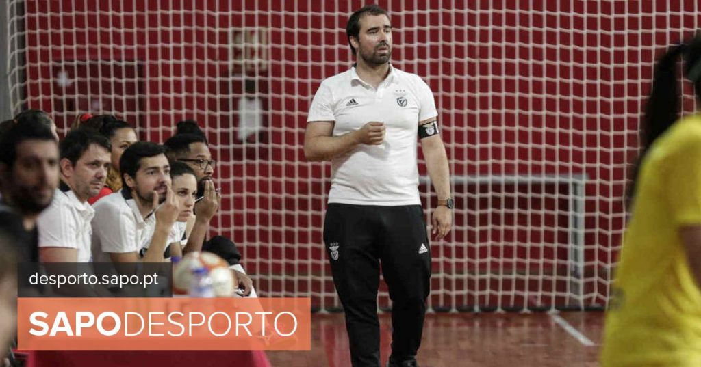 Bruno Fernandes leaves technical command of the women's futsal team of Benfica - Modalities