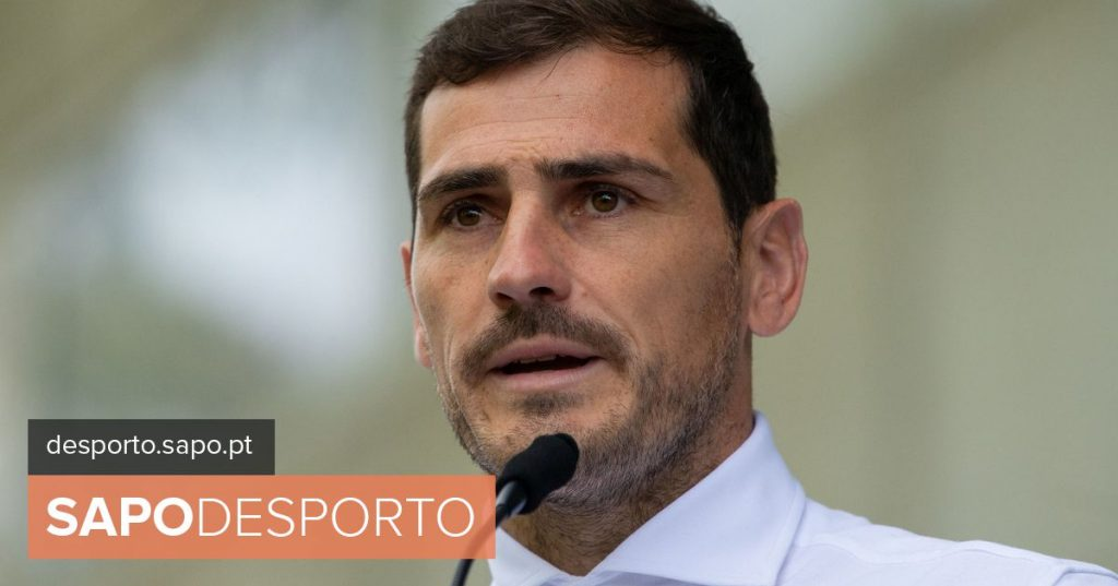 Casillas reacts to the news about the end of his career - I Liga