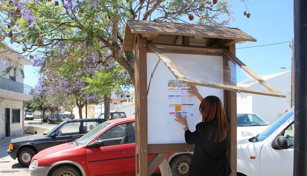 Castromarense autarchy invests 49 thousand euros in recycled urban furniture - Jornal diariOnline Região Sul