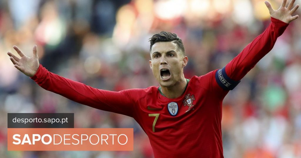 Cristiano Ronaldo scored the best goals of the League of Nations - League of Nations