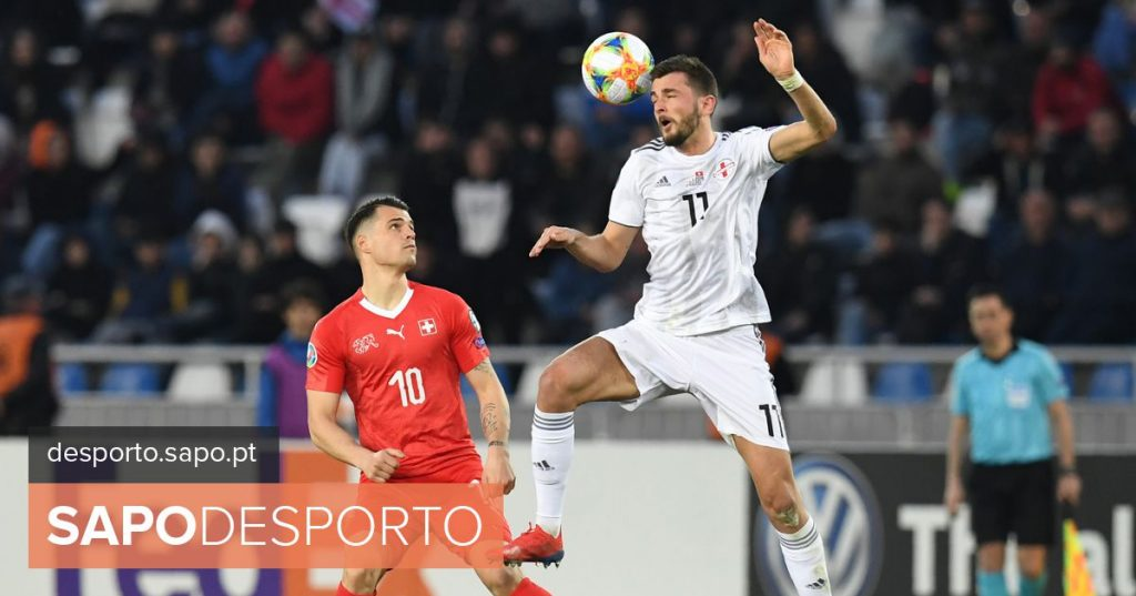 """Granit Xhaka: """"We are here to face the best. Not only Ronaldo"""" - League of Nations"""