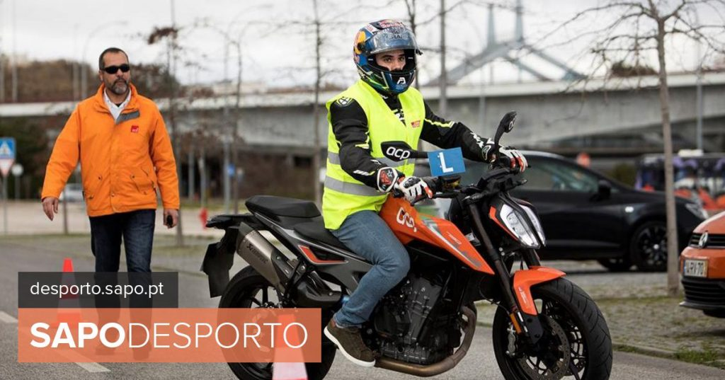 It seems incredible, but it is not. Miguel Oliveira began to take the letter ... of motorcycle