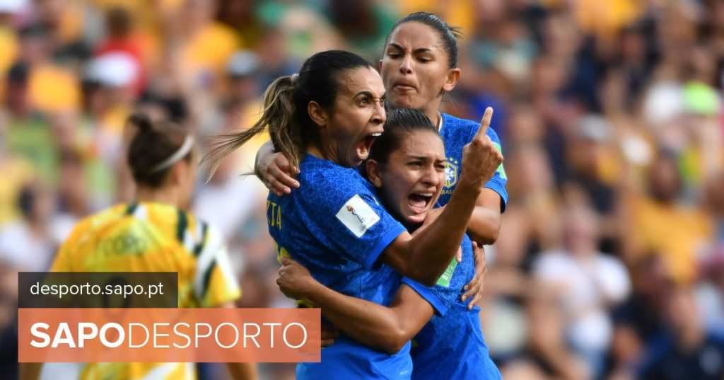 Marta makes history at the Women's World Cup