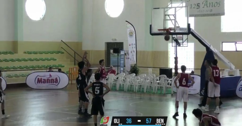 Olivais enters to lose in the final phase of the National Men's Under-14 Championship
