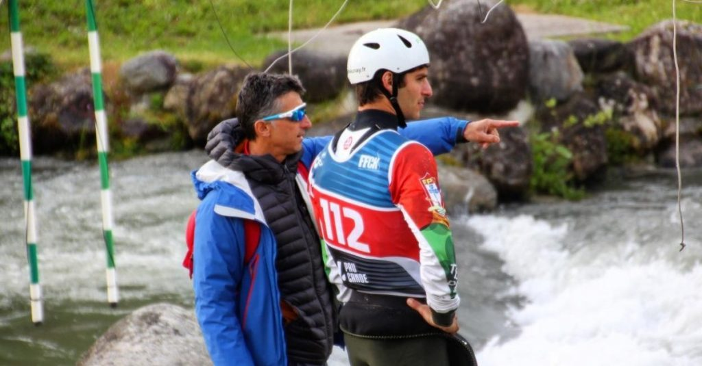 Portugal with four canoeists in the 1st Slalom World Cup