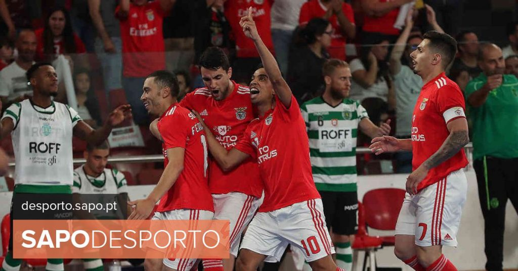 """Sporting futsal players will present a complaint: """"The aggressions existed and were perpetrated by supporters of Benfica"""" - Modalities"""