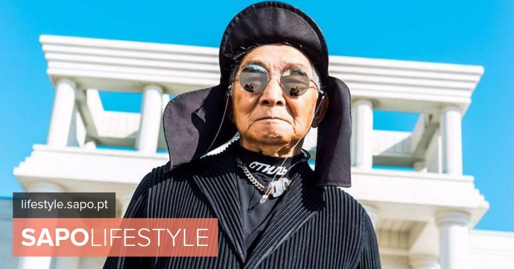 The grandson modernized the look and at 84 this Japanese became a star of the Instagram - Current