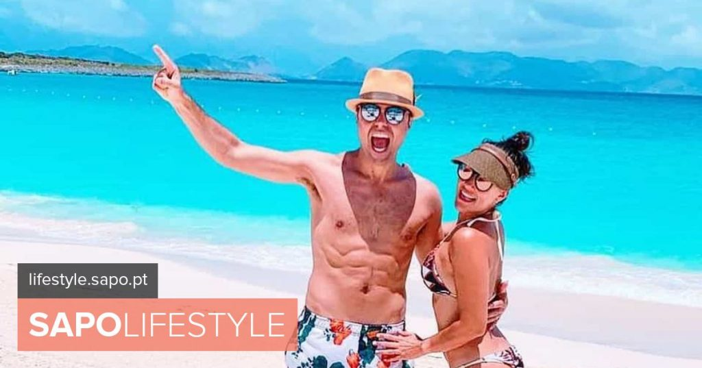 The photos of the dream vacation of Ricardo and Francisca Pereira in the Caribbean