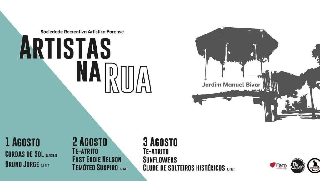 «Artists on the street» to liven up downtown Faro for three nights - Jornal diariOnline Southern Region