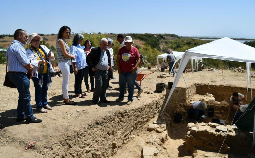 Archaeological excavations to continue in Cacela Velha in the coming years - Diario diariOnline Região Sul