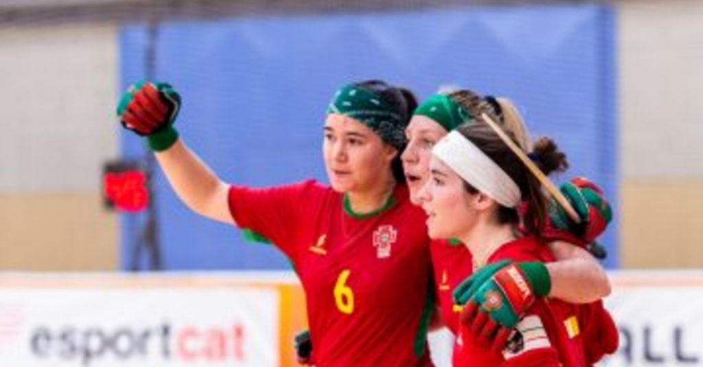 Roller hockey: Portugal beat Switzerland and fifth place in the women's World Cup