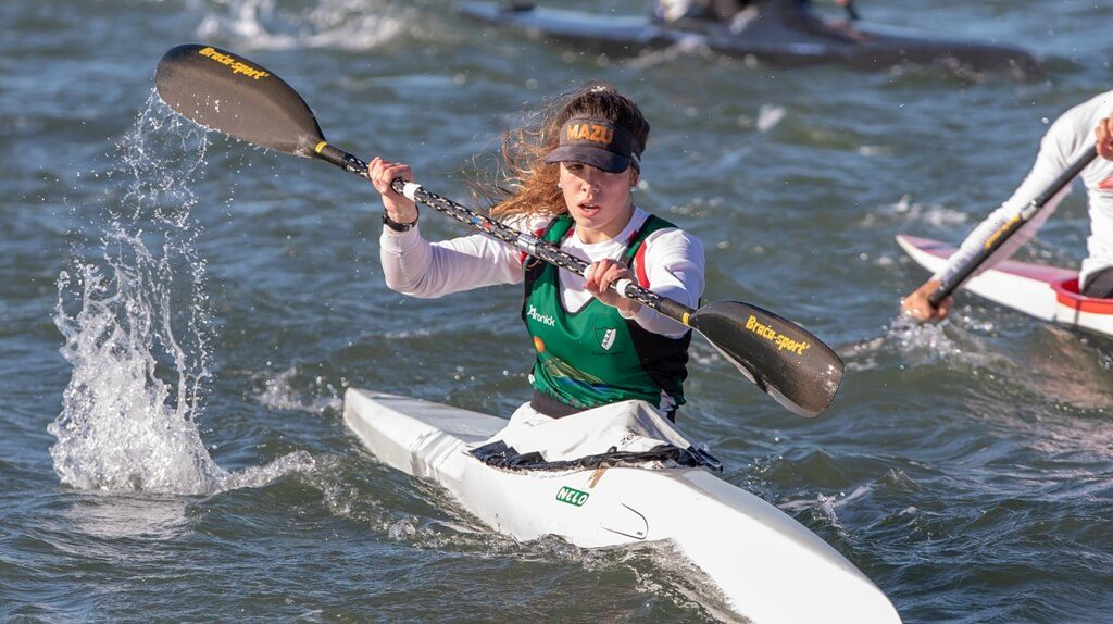 Young Alcouteneja canoeist became national champion for the fourth time - Jornal diariOnline Southern Region