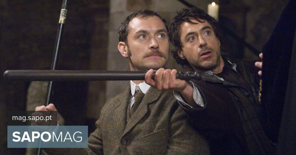 """""""Sherlock Holmes"""" musical? New Movie with Robert Downey Jr. and Jude Law to Host """"Rocketman"""""""