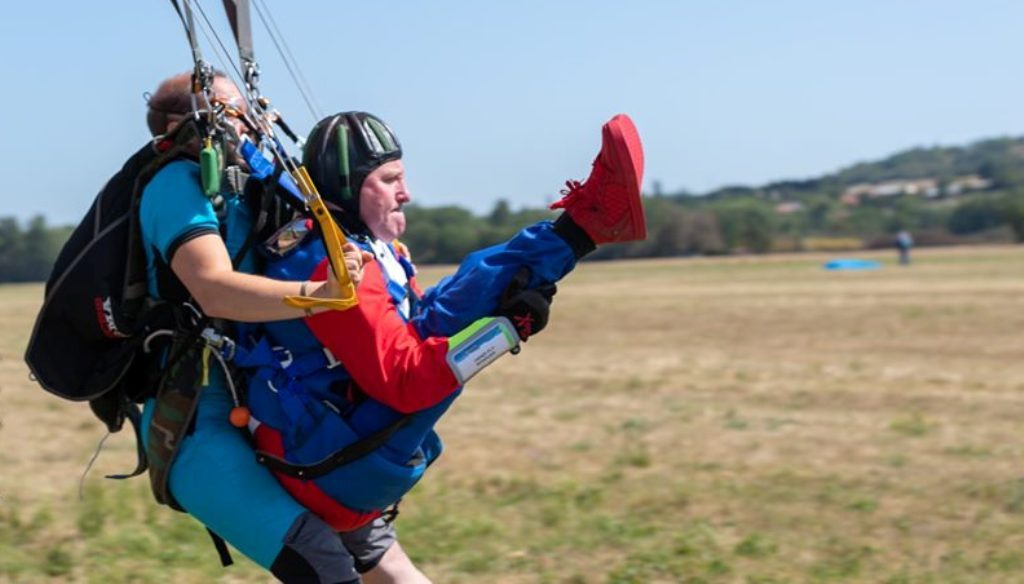 Évora hosts international skydiving competition for people with motor disabilities - Jornal diariOnline Southern Region