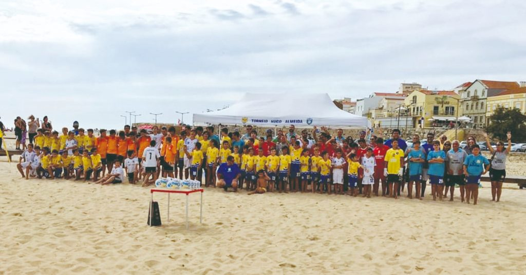 Nearly two hundred young people were in action at the 12th Hugo Almeida Tournament