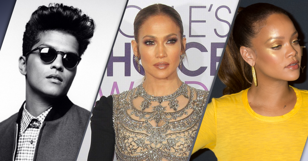From Bruno Mars to Rihanna: Did you know that these singers participated in series? - Present