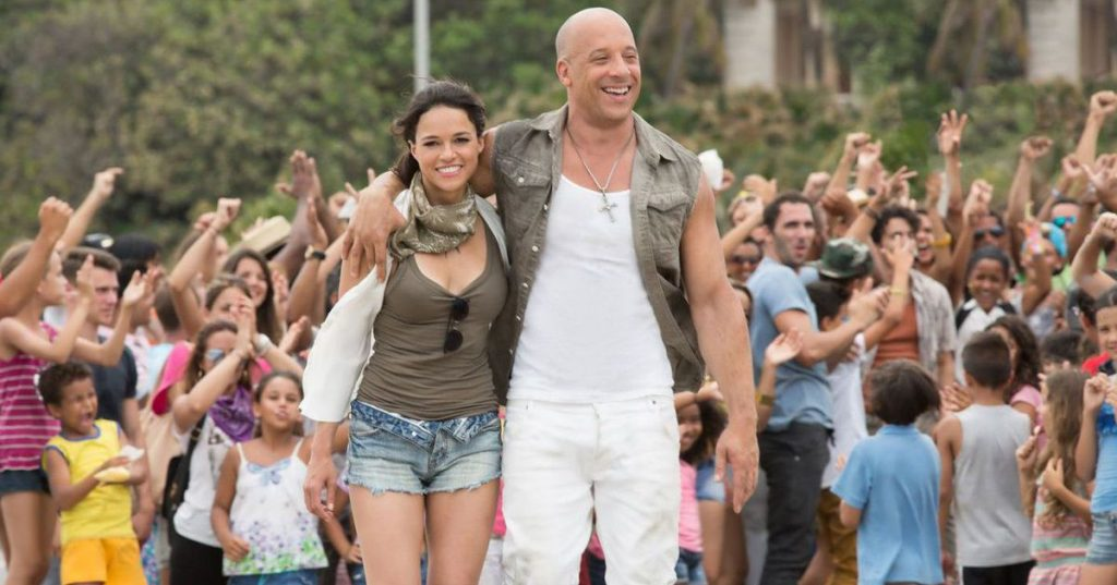 Angry Furious Family: Michelle Rodriguez and Tyrese Barber at New Movie - News