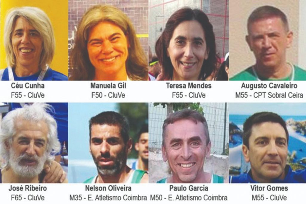 Athletics: Eight Coimbra athletes in action at the European Master of Venice