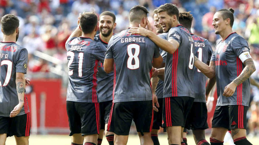 Benfica win International Champions Cup