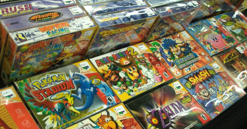 """Demand for retro games fired counterfeit """"industry"""" - Computers"""