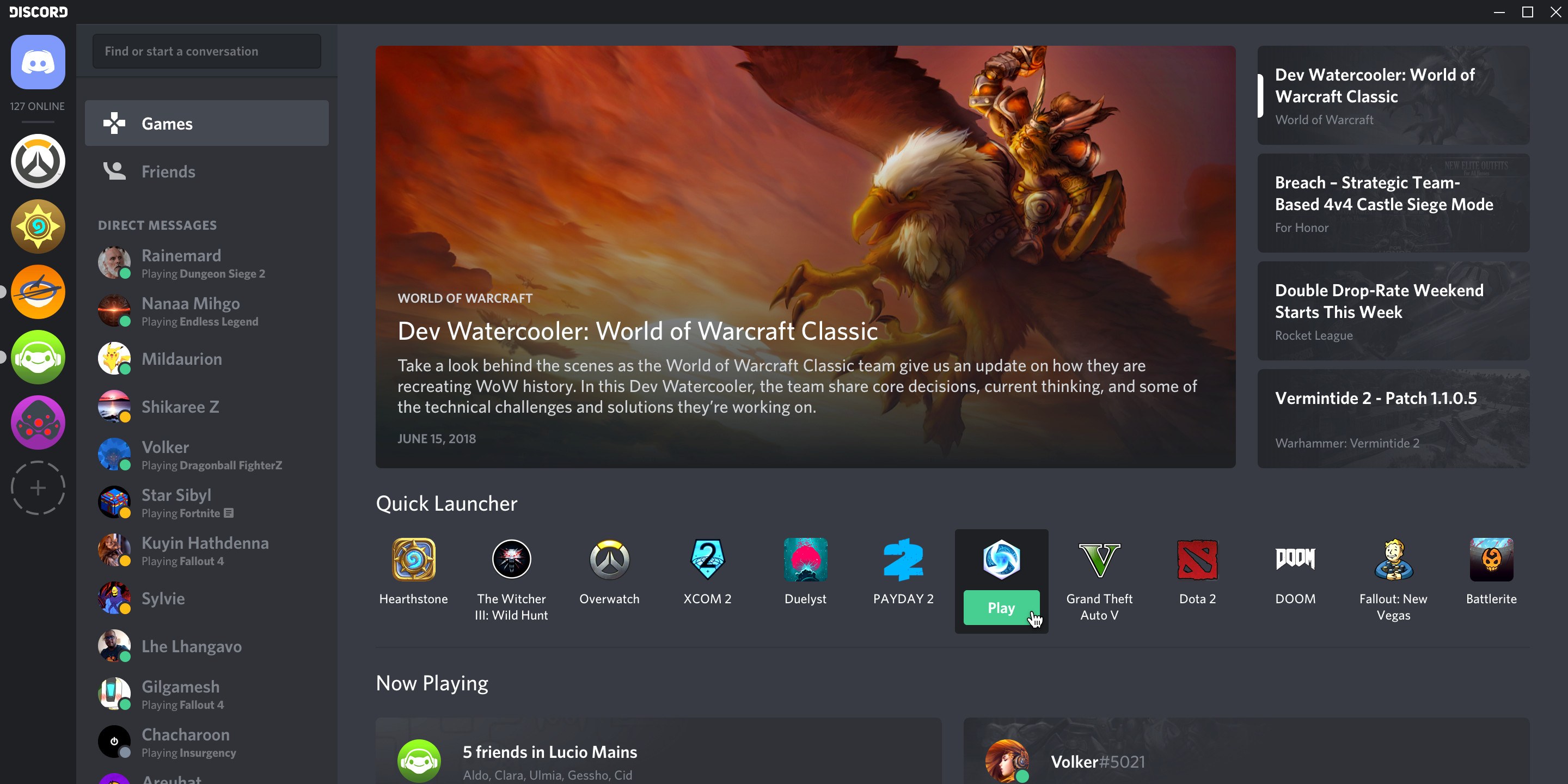 Discord will offer game streaming tools, but broadcasts are