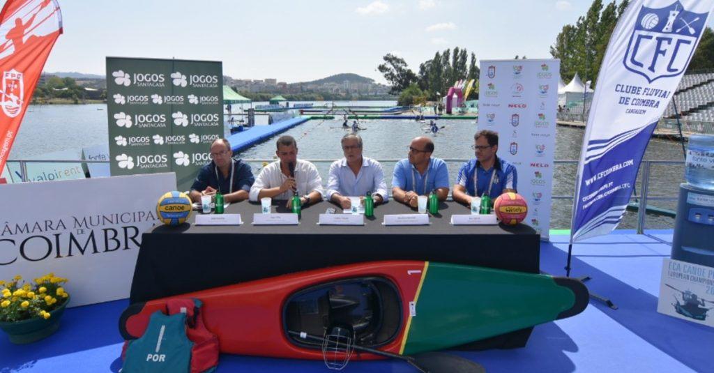 National teams from 18 countries compete in European kayak polo Coimbra