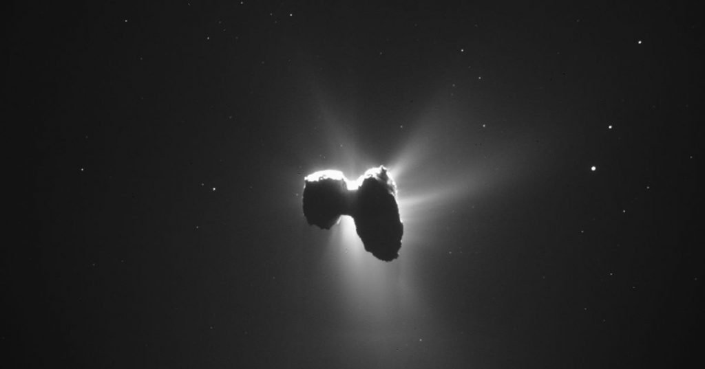 Remember the Rosetta mission? Photos show that there was a mini moon orbiting comet 67P - Multimedia