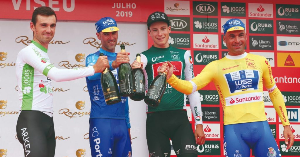 Return to Portugal: Samuel Caldeira triumphs in Viseu and wears yellow