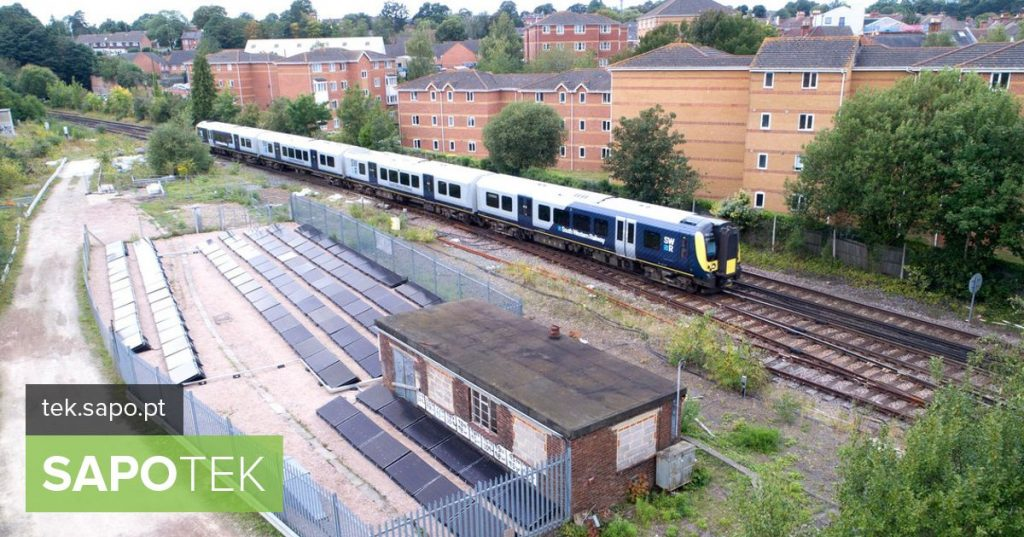 UK inaugurates first solar-powered rail line - Computers