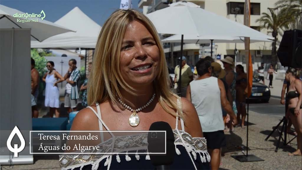 """""""Water is fundamental to life, just think about it"""" - Teresa Fernandes / Águas do Algarve - Jornal diariOnline Southern Region"""